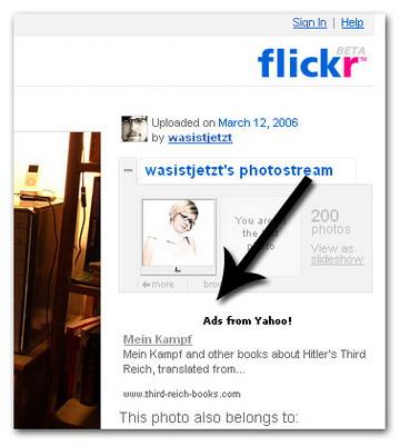 Hitler auf dem Flickr
