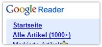 Keinen Bock den Google Reader abzuarbeiten