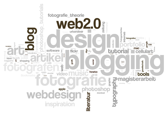 wordle-tag cloud based upon delicious tags by urbandesire